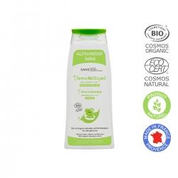 ALPHANOVA kūdikių Ekologiškas plaukų ir kūno prausiklis Dermo-cleasing Gel 200ml