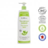 ALPHANOVA kūdikių Ekologiškas plaukų ir kūno prausiklis Dermo-cleasing Gel 500ml