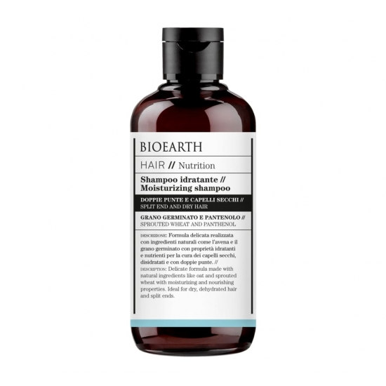BIOEARTH Ekologiškas šampūnas sausiems plaukams NUTRITION 250ml
