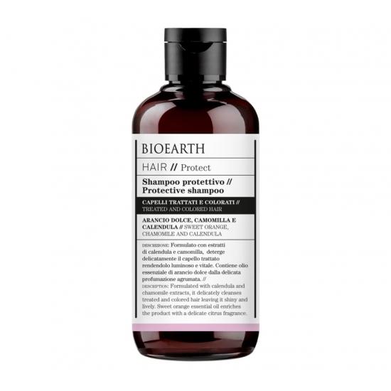 BIOEARTH Ekologiškas šampūnas dažytiems plaukams PROTECT 250ml