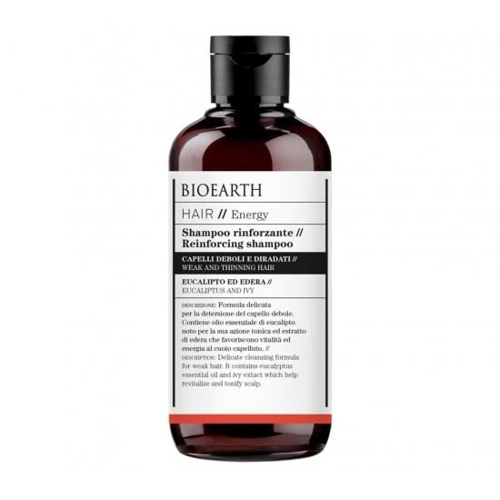 BIOEARTH Ekologiškas šampūnas stiprinantis plaukus 250ml