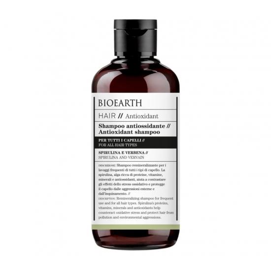 BIOEARTH Ekologiškas šampūnas su antioksidantais 250ml