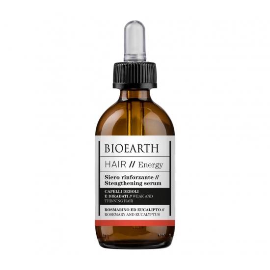 BIOEARTH Ekologiškas serumas stiprinantis plaukus ENERGY 50ml