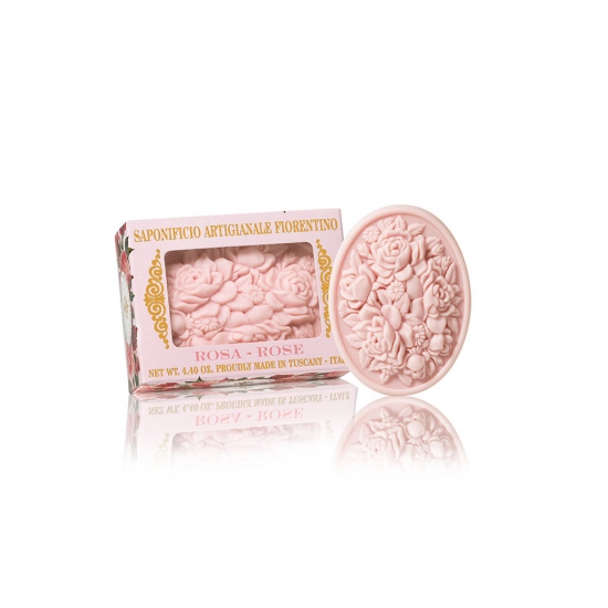 Muilas Rožių aromato, ROSE 125 g